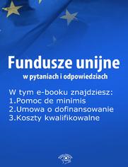 Fundusze unijne w pytaniach i odpowiedziach, wydanie wrzesień 2014 r