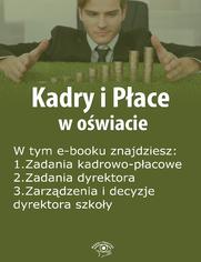Kadry i Płace w oświacie, wydanie sierpień 2014 r