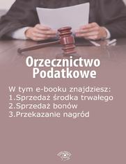 Orzecznictwo podatkowe, wydanie kwiecień 2014 r