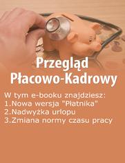 Przegląd Płacowo-Kadrowy, wydanie sierpień 2014 r