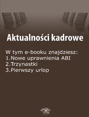 Aktualności kadrowe, wydanie luty 2015 r