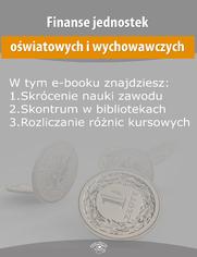 Finanse jednostek oświatowych i wychowawczych, wydanie kwiecień 2015 r