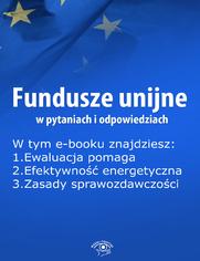 Fundusze unijne w pytaniach i odpowiedziach, wydanie sierpień 2015 r