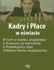 Kadry i Płace w oświacie, wydanie marzec 2015 r