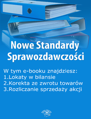 Nowe Standardy Sprawozdawczości , wydanie marzec 2015 r. część II