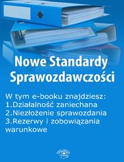 Nowe Standardy Sprawozdawczości , wydanie lipiec 2015 r. część I