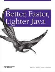 Ok�adka ksi��ki Better, Faster, Lighter Java