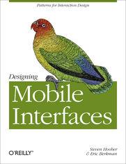 Ok�adka ksi��ki Designing Mobile Interfaces