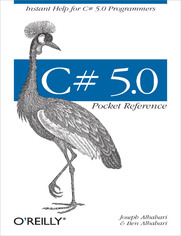 Ok�adka ksi��ki C# 5.0 Pocket Reference. Instant Help for C# 5.0 Programmers