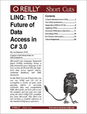 Ok�adka ksi��ki LINQ: The Future of Data Access in C# 3.0. The Future of Data Access in C# 3.0