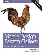 Ok�adka ksi��ki Mobile Design Pattern Gallery. UI Patterns for Smartphone Apps. 2nd Edition