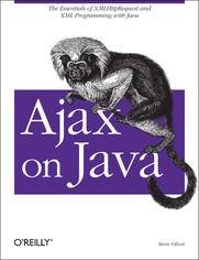 Ok�adka ksi��ki Ajax on Java
