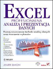 Ok�adka ksi��ki Excel. Profesjonalna analiza i prezentacja danych