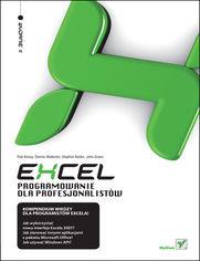 Excel. Programowanie dla profesjonalistów. Wydanie II