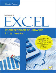 Online Excel w obliczeniach naukowych i inżynierskich. Wydanie II