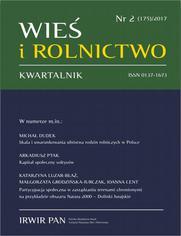 Wieś i Rolnictwo nr 2(175)/2017