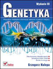 Ok�adka ksi��ki Genetyka. Wydanie III