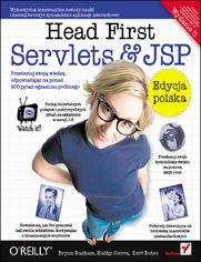 Ok�adka ksi��ki Head First Servlets & JSP. Edycja polska. Wydanie II (Rusz g�ow�!)