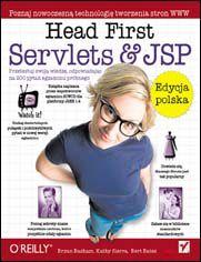Ok�adka ksi��ki Head First Servlets & JSP. Edycja polska (Rusz g�ow�!)
