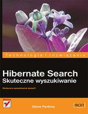 Ok�adka ksi��ki Hibernate Search. Skuteczne wyszukiwanie