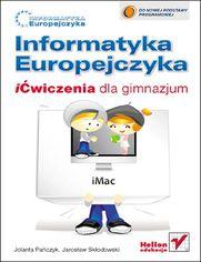Ok�adka ksi��ki Informatyka Europejczyka. i�wiczenia dla gimnazjum