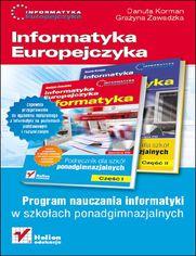 Online Informatyka Europejczyka. Informatyka. Program nauczania dla szkół ponadgimnazjalnych