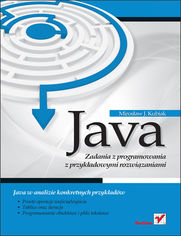 Ok�adka ksi��ki Java. Zadania z programowania z przyk�adowymi rozwi�zaniami