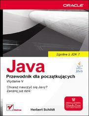 Ok�adka ksi��ki Java. Przewodnik dla pocz�tkuj�cych. Wydanie V