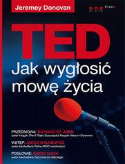 Ok�adka ksi��ki TED. Jak wyg�osi� mow� �ycia