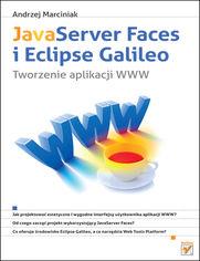 Ok�adka ksi��ki JavaServer Faces i Eclipse Galileo. Tworzenie aplikacji WWW