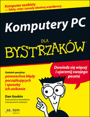 Ok�adka ksi��ki Komputery PC dla bystrzak�w