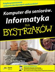 Ok�adka ksi��ki Komputer dla senior�w. Informatyka dla bystrzak�w