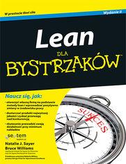 Ok�adka ksi��ki Lean dla bystrzak�w. Wydanie II