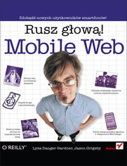 Ok�adka ksi��ki Mobile Web. Rusz g�ow�!