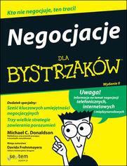 Negocjacje dla bystrzaków. Wydanie II