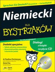 Ok�adka ksi��ki Niemiecki dla bystrzak�w