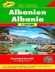 Albanien, 1:150 000