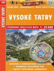 Vysoke Tatry, 1:25 000