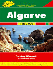 Algarve. Mapa samochodowa