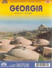 Gruzja. Mapa ITMB 1:610 000 - brak