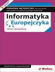 Ok�adka ksi��ki Informatyka Europejczyka. Poradnik metodyczny dla nauczycieli informatyki w szko�ach ponadgimnazjalnych. Zakres rozszerzony (Wydanie II)