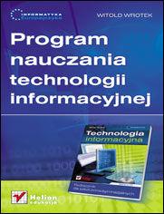 Ok�adka ksi��ki Informatyka Europejczyka. Program nauczania technologii informacyjnej