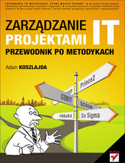 Ok�adka ksi��ki Zarz�dzanie projektami IT. Przewodnik po metodykach