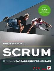 Ok�adka ksi��ki Scrum. O zwinnym zarz�dzaniu projektami