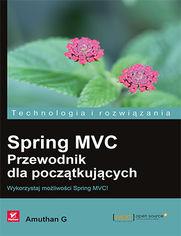 Ok�adka ksi��ki Spring MVC. Przewodnik dla pocz�tkuj�cych