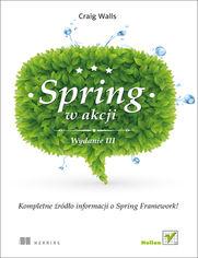 Ok�adka ksi��ki Spring w Akcji. Wydanie III