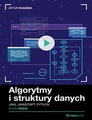 Okładka - Algorytmy i struktury danych. Kurs video. Java,...