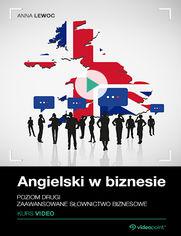 Okładka - Angielski w biznesie. Kurs video. Poziom drugi. Zaawansowane słownictwo biznesowe