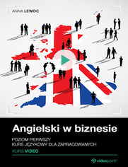 Okładka - Angielski w biznesie. Kurs video. Poziom pierws...