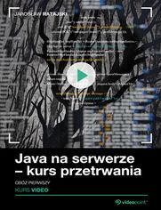 Okładka - Java na serwerze - kurs przetrwania. Obóz pierwszy